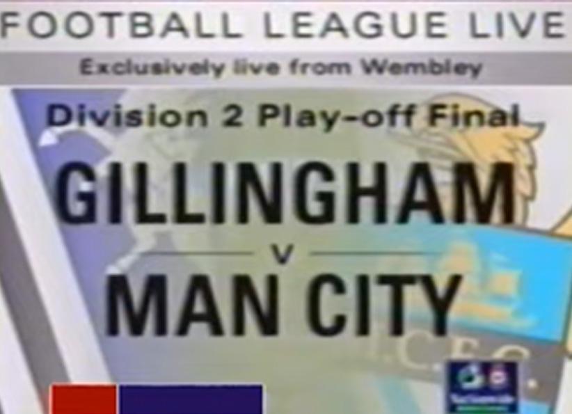 CITY vs GILLINGHAM